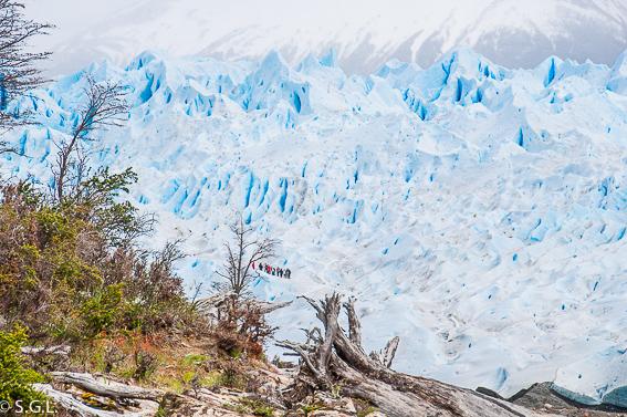 Minitrekking por el perito Moreno. Calafate. Argentina