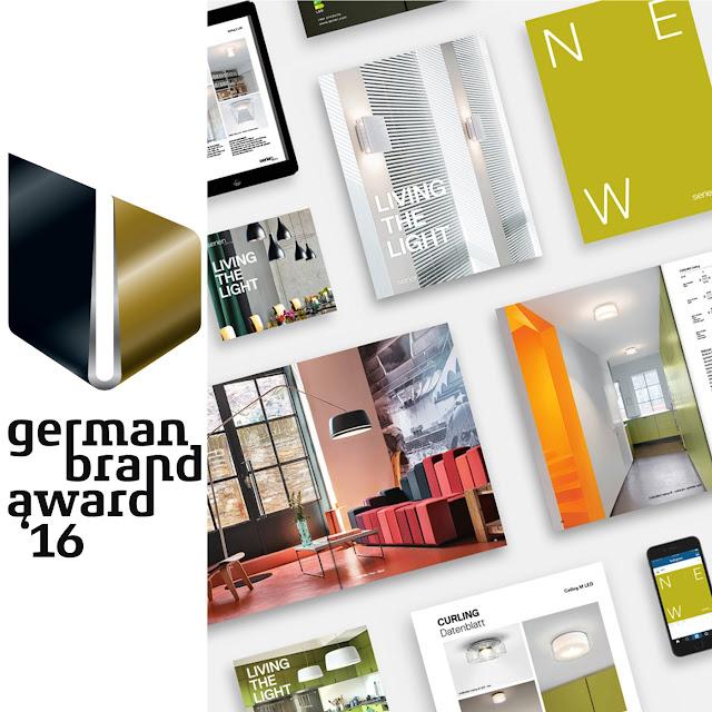 german brand award 2016 gold für serien lighting