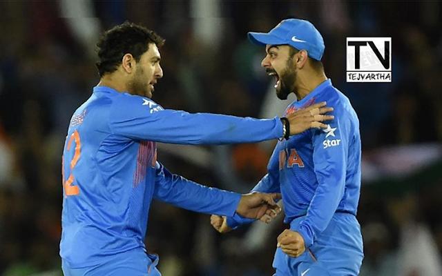 Yuvraj Singh, Yuvraj Singh In Indian Squad, Indian Odi Squad Versus England, India Vs England, Cricket News, Sports News, Latest News, Team India Squad, Yuvraj Singh News,
