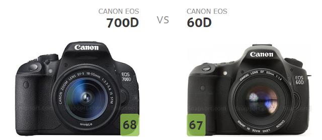 So Sánh Canon 700D và 60D | Techzanhducdigital