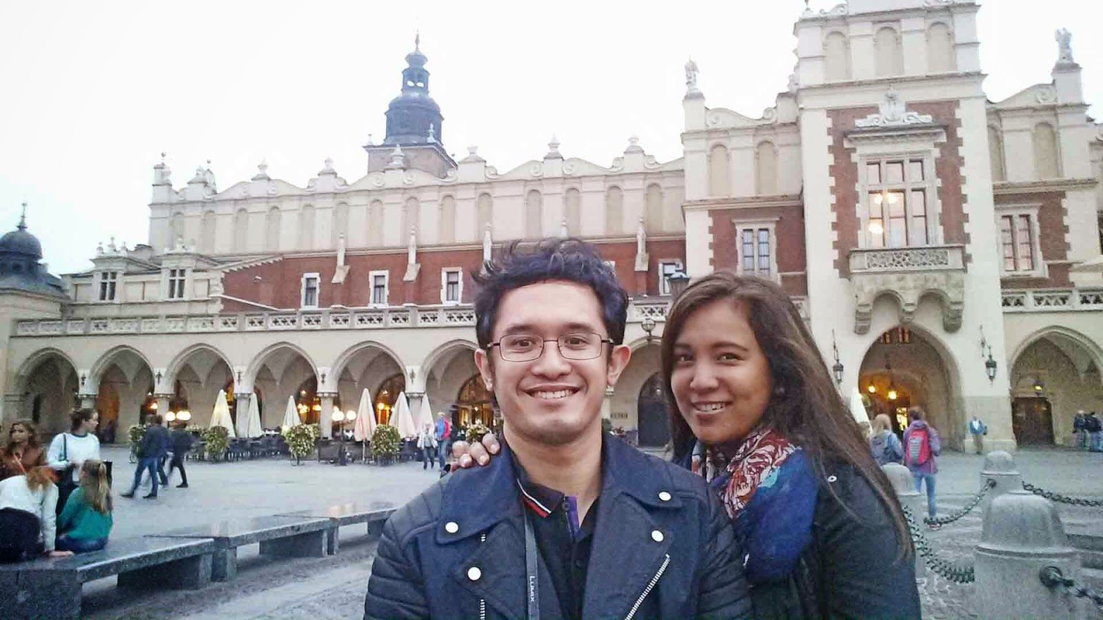 Selfie at Krakow Market Square