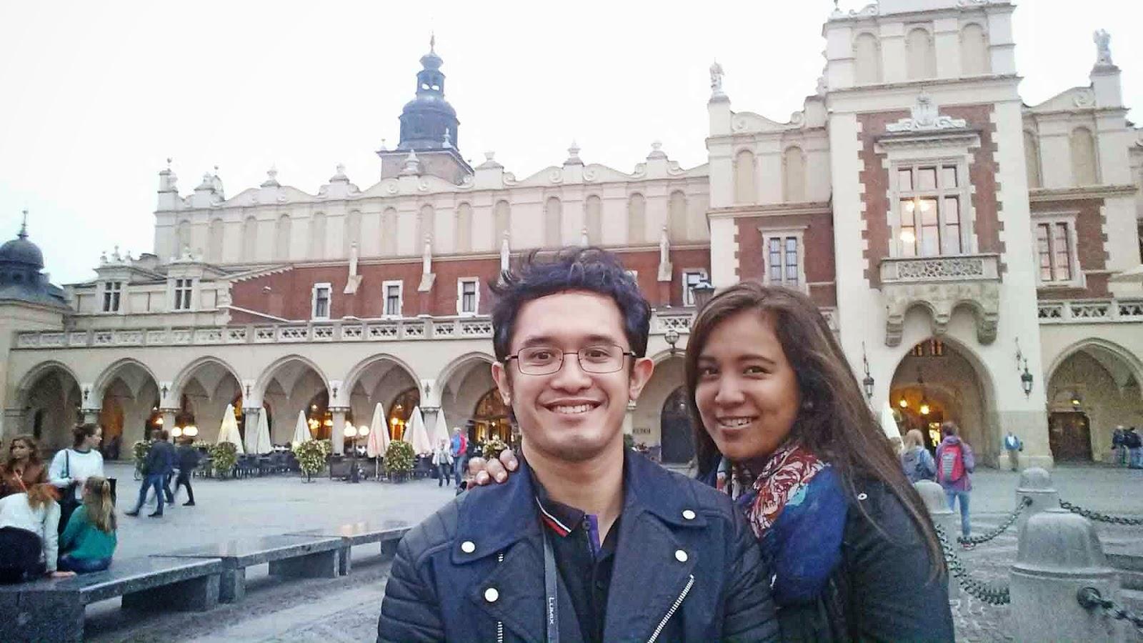 Selfie at Krakow Market Square