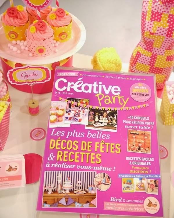 Christmas Party Decor Ideas from the Paris Craft Show - BirdsParty.com
