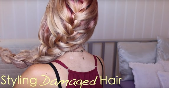 style damaged hair how to style damaged hair 9417