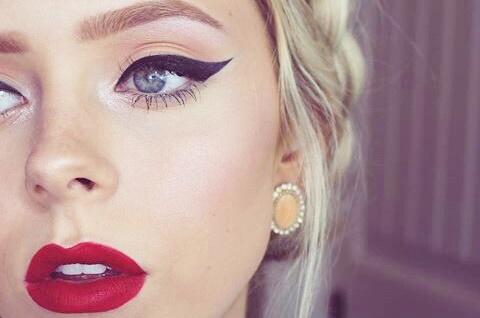 como aumentar olhar com maquiagem