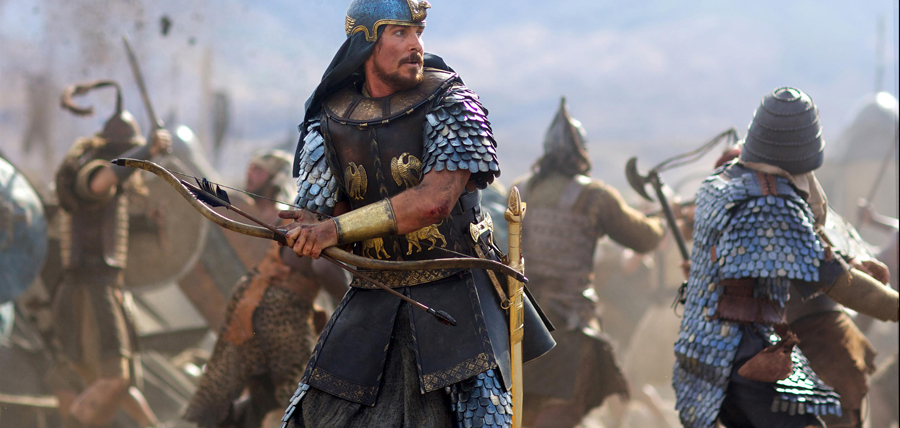 Christian Bale în EXODUS: GODS AND KINGS