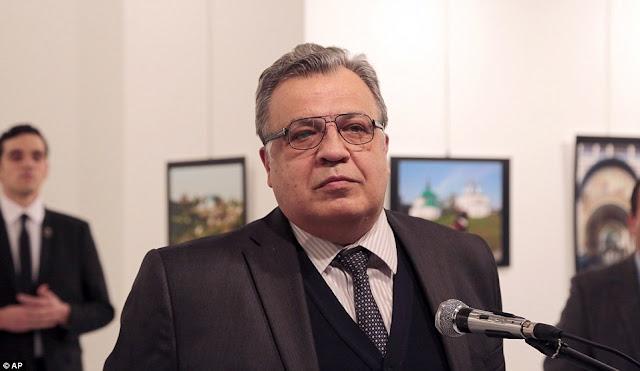 Duta Rusia di Turki di tembak ketika berucap