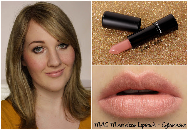 MAC Cybernaut Mineralize lipstick swatch