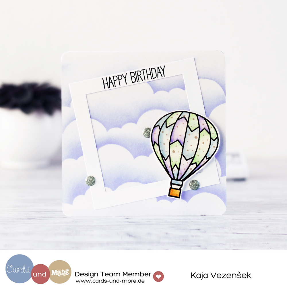 Hot air balloon | Cards und more