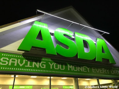 Asda Ferring at night