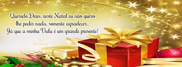Mensagem de Natal para Facebook fotos