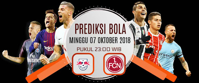 Prediksi RB Leipzig vs Nurnberg 7 Oktober 2018 Bundesliga German Pukul 23.00 WIB