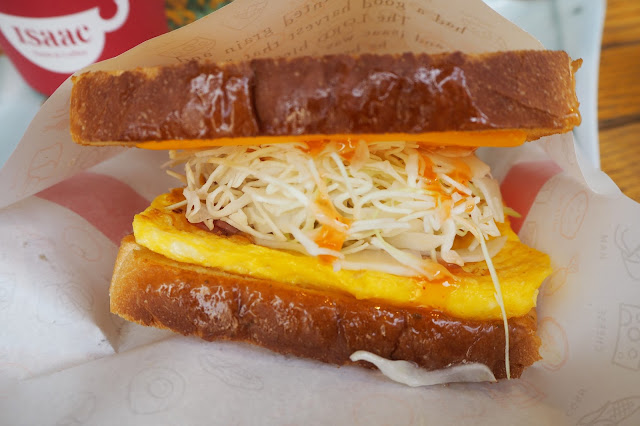 isaac toast sandwiches
