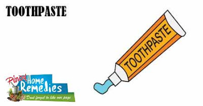 Home Remedies For Pimples: Toothpaste