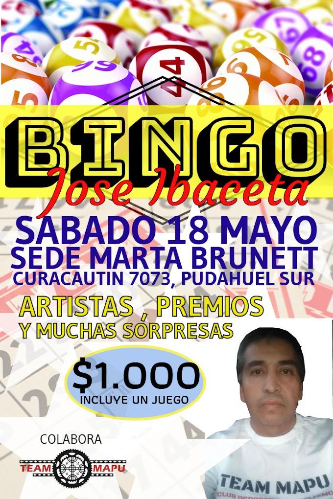 Bingo Solidario José Ibaceta