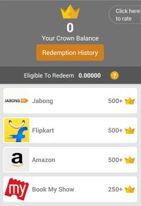 crown it cashback offer