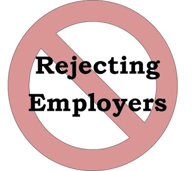 When to Reject a Potential Employer [Shy Job Seeker Blog]