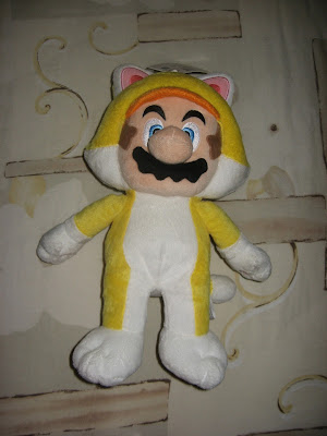 Catsuit Mario plushie Super Mario 3D World furry
