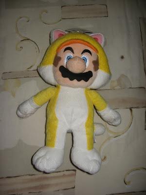 Catsuit Mario plushie Super Mario 3D World furry