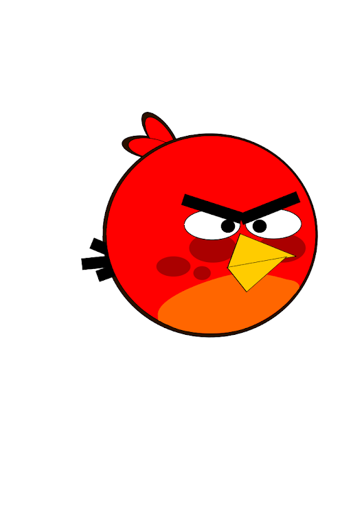 ANGRY BIRDS CON INKSCAPE