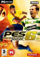 تحميل لعبة Pro Evolution Soccer 6 للكمبيوتر مجاناً