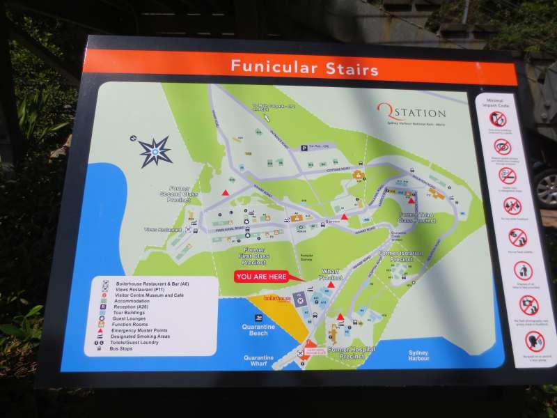 Q Station map