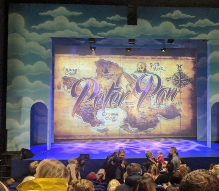 Review & Top Tips | Playhouse Whitley Bay Panto 2018  -  Peter Pan Curtain Up