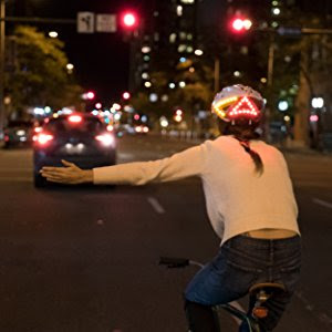 lumos smart cycle helmet with lights