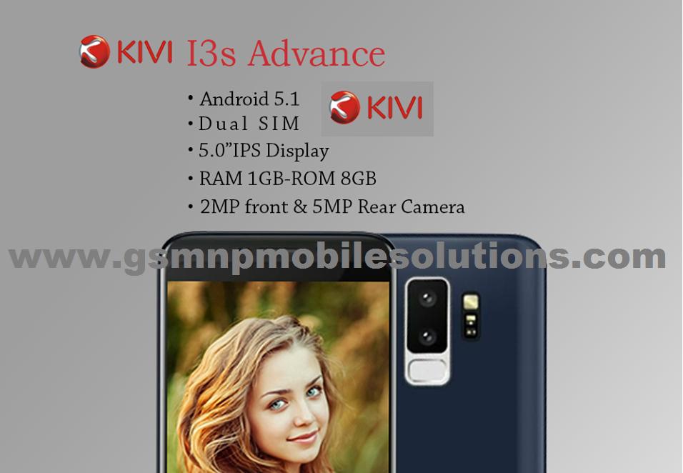 Kivi i3s Advance Official Firmware Stock Rom/Flash File