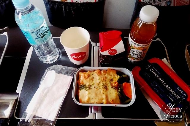 In-flight Meal, AirAsia Santan New In-flight Menu, AirAsia Santan Menu Launch at Amorita Resort Panglao Bohol, Airsia Airline Meal Food Blog Review,  Philippines Airline Meal Review, Amorita Resort Panglao Bohol, YedyLicious Manila Food Blog,