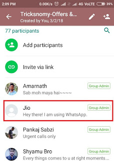 Restrict Members to post in WhatsApp