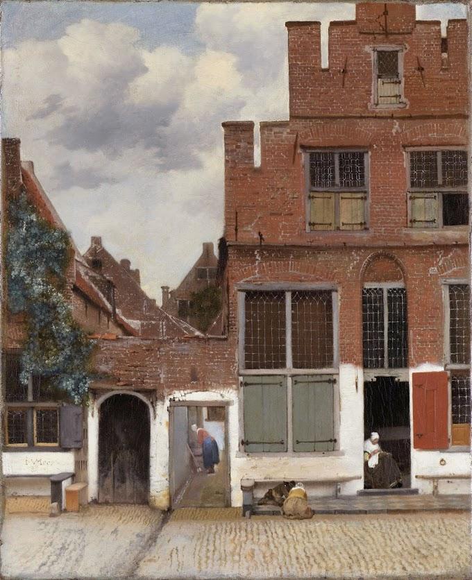 لوحة الشارع الصغير
