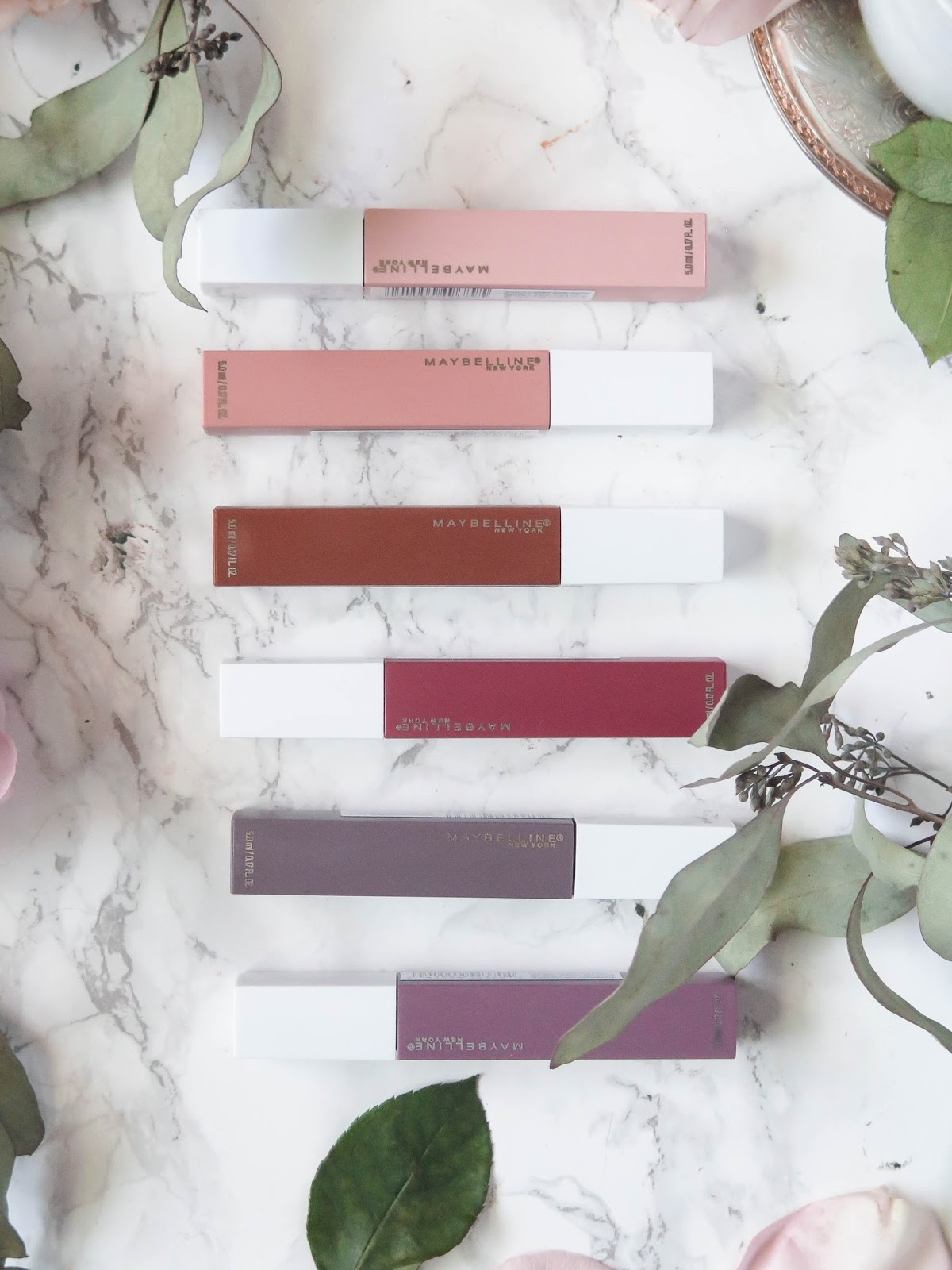 A New Nude | Maybelline SuperStay Matte Ink Liquid Lipsticks | The UnNudes Collection | Review | labellesirene.ca