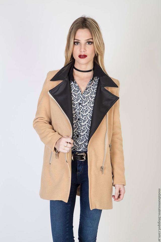 Tapados invierno 2016 ropa de mujer. Moda invierno 2016.