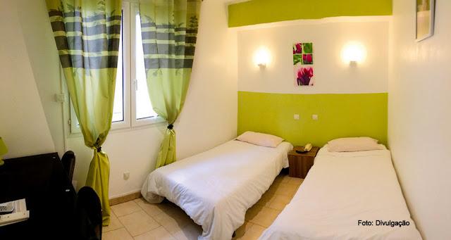 Hospedagem em Carcassonne, França - Hotel Astoria