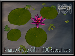 Khargo Group Gift and Water Lilies!