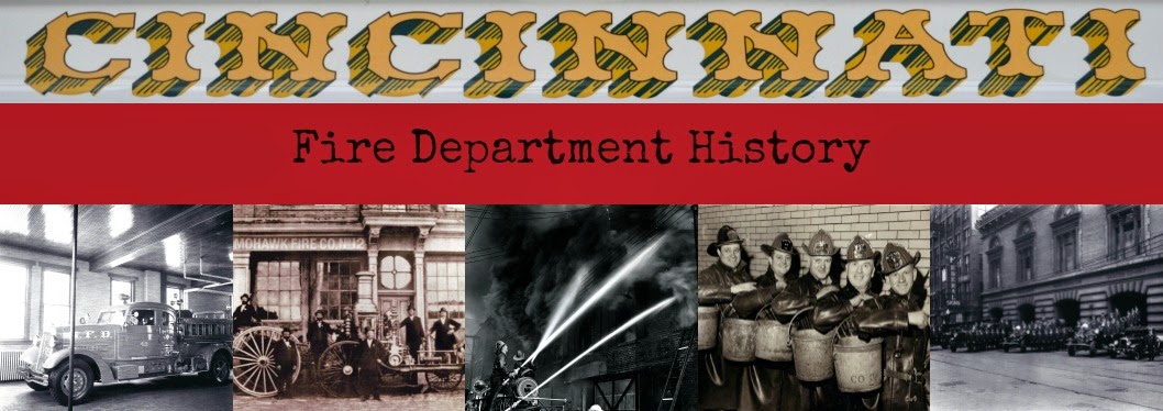 Cincinnati Fire Department History