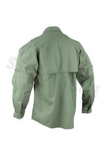Вид сзади рубашки Рубашка 'Тактика' СоюзСпецОснащения