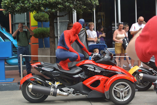 Spiderman, Universal