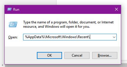 recent-files-run-command-windows-10