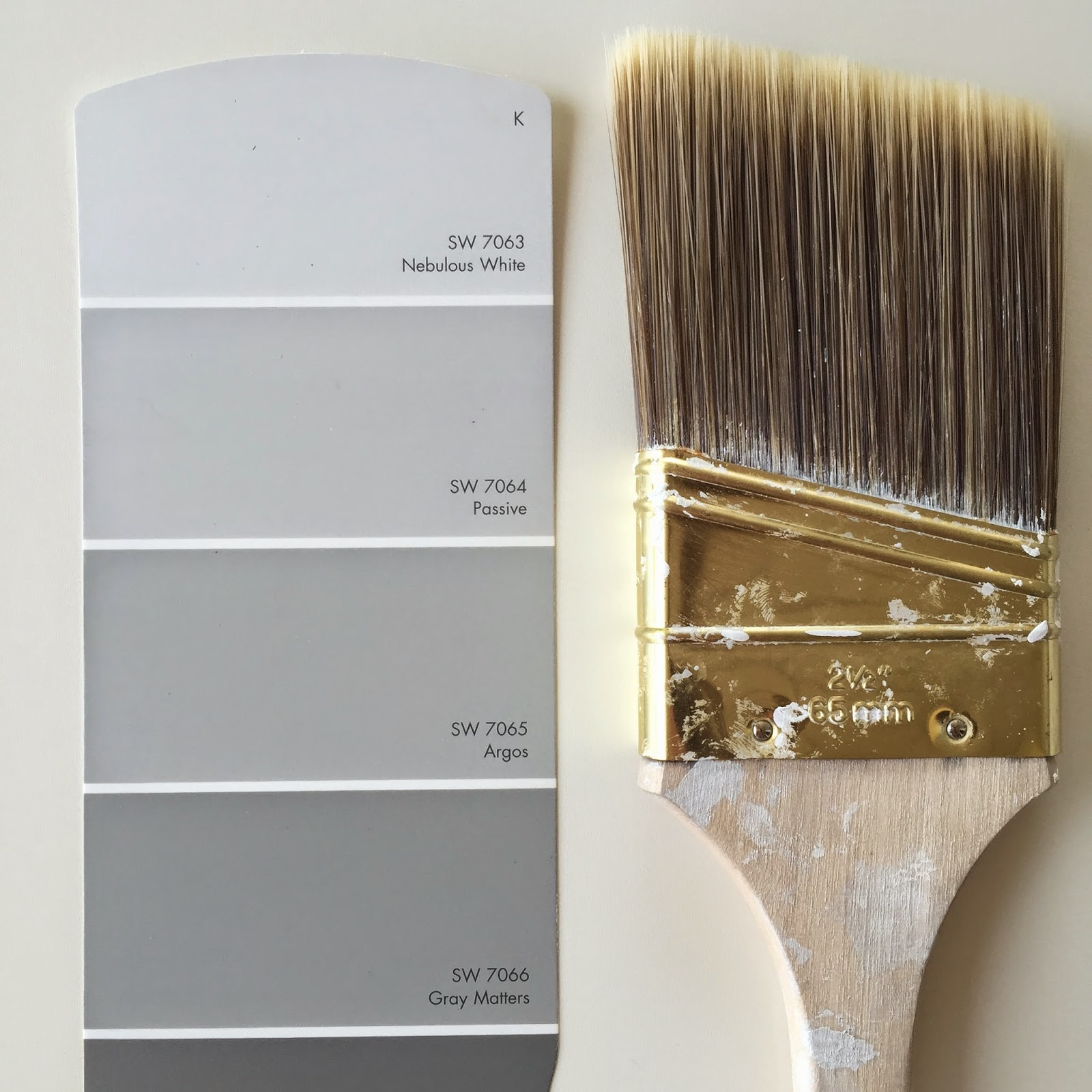 The perfect shade of gray paint jesse coulter for Grey white paint colors