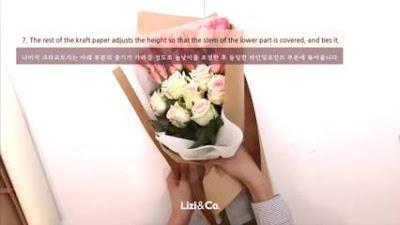 cara membuat buket bunga palsu