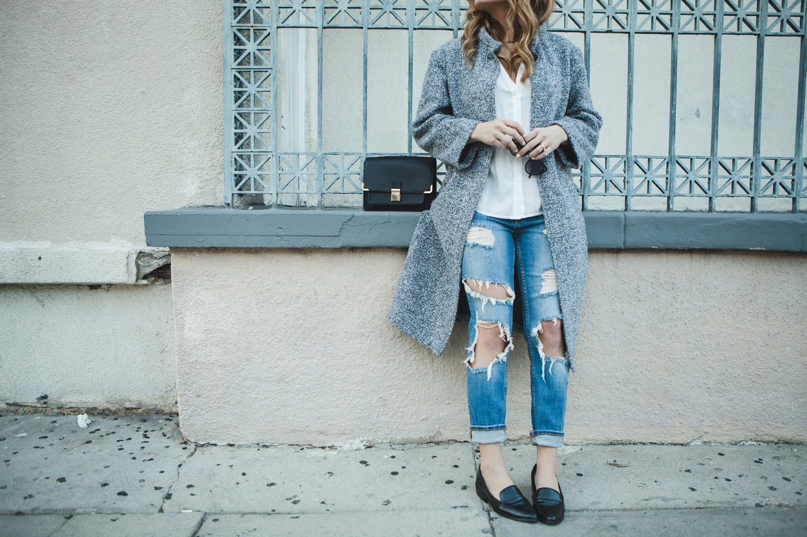 Ripped Denim - My Cup of Chic | Taylor Winkelmeyer