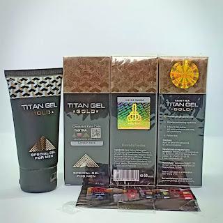 Ciri Titan gel palsu