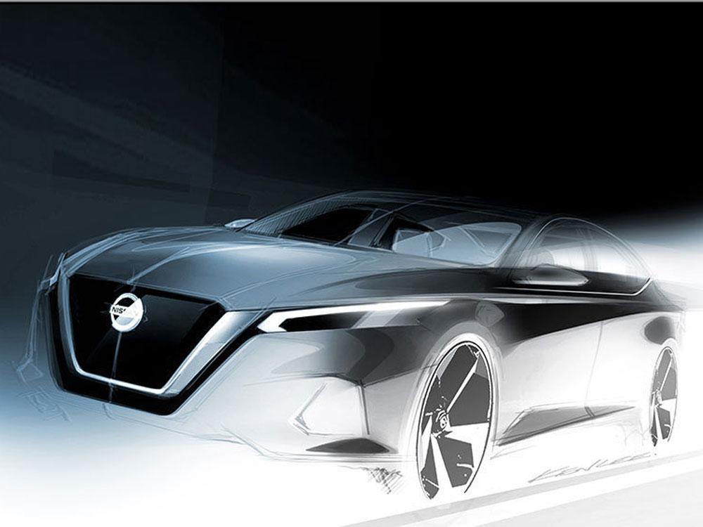 Nissan Altima Dapat Fitur Baru di New York Auto Show