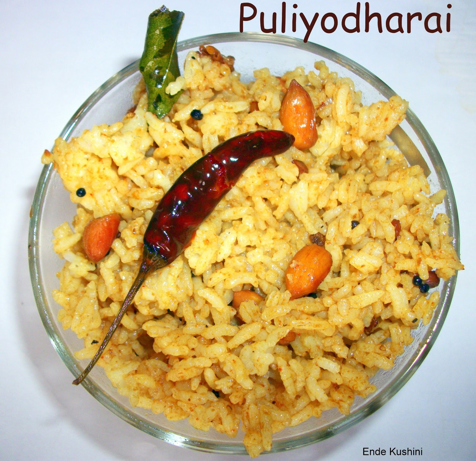 Puliyodharai Recipe Rak S Kitchen