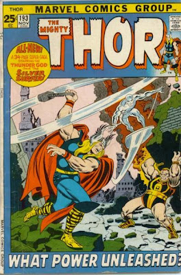 Thor #193, the Silver Surfer and Durok