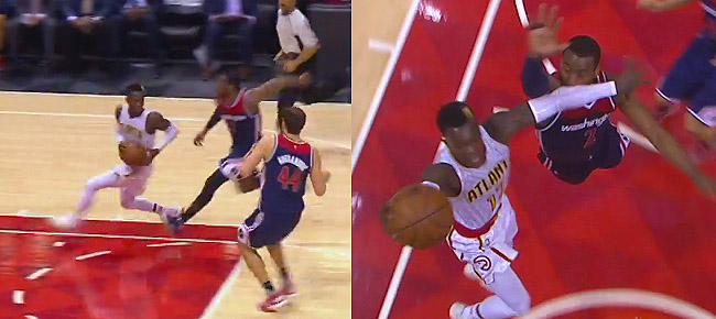 John Wall Shifts The Momentum With the Big Block! (VIDEO)