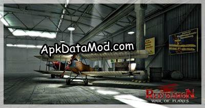 Red Baron War of Planes Apk planes showroom