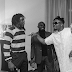 [VIDEO] Check out Olamide's reaction Fireboy's new song - New York City Girl